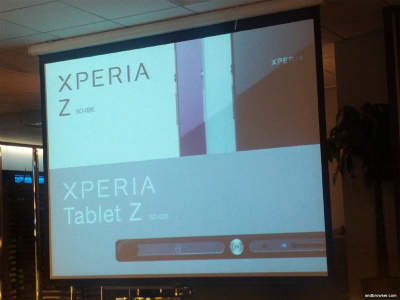 Xperia z touch and try